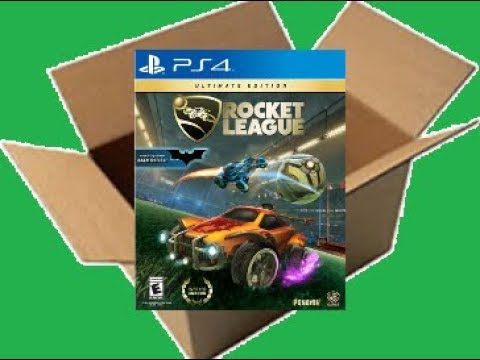 Rocket League: Ultimate Edition [PS4] (Unboxing/Breakdown/Demo)