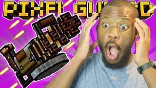 USING THE MYTHICAL HAND GATLING! | Pixel Gun 3D