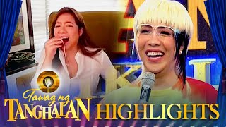"Vice Ganda does the ""Choppy Choppy-han"" prank again to Angeline Quinto 