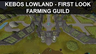 OSRS | Kebos Lowlands - Farming Guild (First Look!)