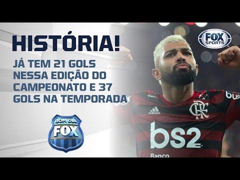 FAZENDO HISTÓRIA! Gabigol pode superara Zico e se tornar maior goleador em uma edição do Brasileiro