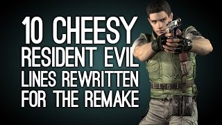 10 Cheesy Resident Evil Lines They Rewrote for the Remake