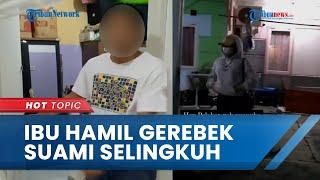 Viral Video Istri Sah yang Sedang Hamil Gerebek Suaminya Sedang Selingkuh dengan Pramugari