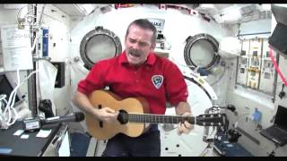 Space Chris Hadfield and students from coast to coast fill the sky with music excerpt