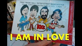 I Am In Love…10CC Exhibition at Stockport Museum One.