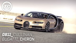 [Top Gear] Chris Harris Drives... Best of Luxury: Aston Martin DB11, 261mph Bugatti Chiron, Cullinan