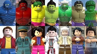 All Hulks in Lego Videogames (2013 - 2018)