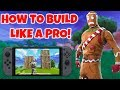 How To Build Faster In Fortnite On Nintendo Switch Tips Tricks