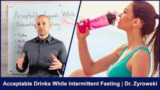 Acceptable Drinks While Intermittent Fasting | This Is CRITICAL
