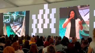 Выступление Альбины Хафизовой на конференции в Хорватии 2018