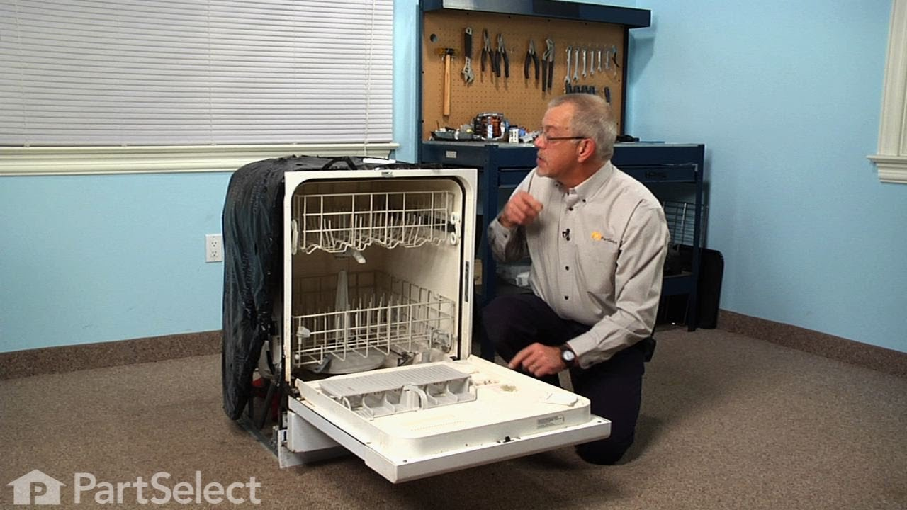 Replacing your Whirlpool Dishwasher Soap Dispenser Cover