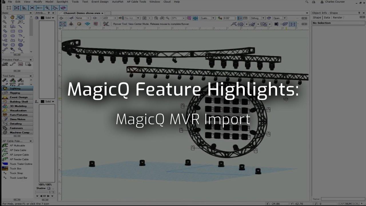 MagicQ MVR Import