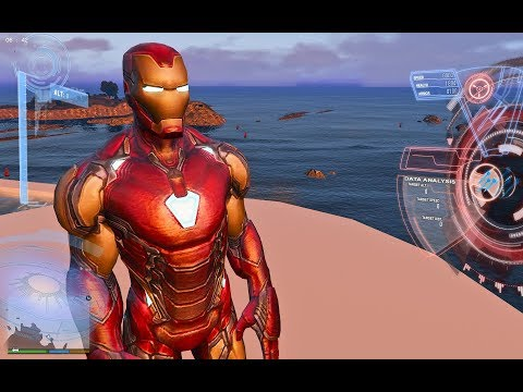 Download Gta 5equipping The Avengers End Game Iron Man Suit