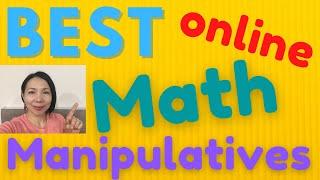 BEST Online Manipulative Math Resources | Online Teaching 2020 | Annie Laurence
