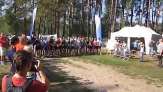 preview picture of video 'II Piski Duathlon Leśny. Wiartel (20.09.2014).'
