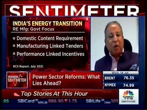 Dr Praveer Sinha, CEO & MD of Tata Power in discussion with CNBC TV 18