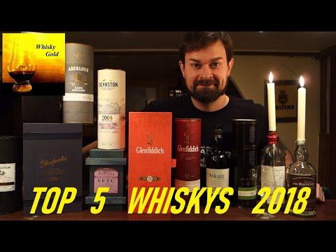 Meine 5 besten Whiskys des Jahres 2018