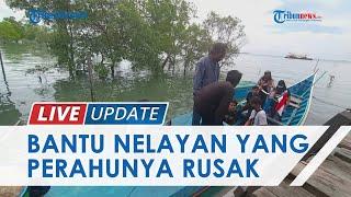 Bantu Nelayan yang Kehilangan Perahu, KNTI Kaltara Bersama Komunitas Tarakanku Kumpulkan Donasi