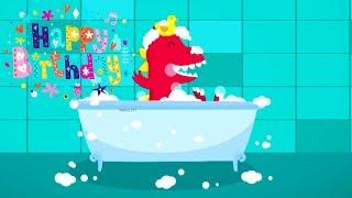 Happy Birthday Dinosaur - Birthday Song For Kids