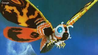 Mothra on Bunny Vision Movie Night