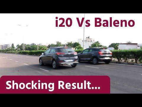 Brake Test : i20 Vs Baleno | Gagan Choudhary