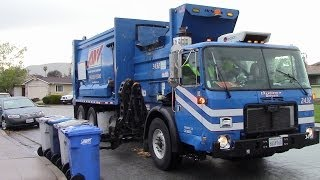 Former BFI Trucks, Allied Waste, and Republic Services Compilation Video
