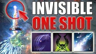 Invisible One Shot Combo [Riki Invis + Decrepify + Laguna Blade] Dota 2 Ability Draft