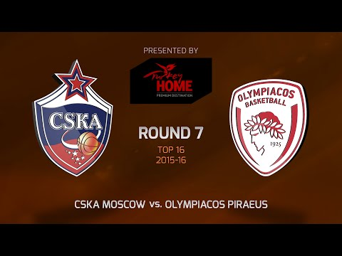 Highlights: Top 16, Round 7, CSKA Moscow 92-85 Olympiacos Piraeus