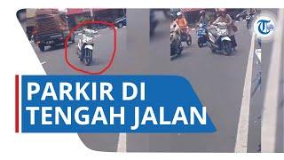 Viral Emak-emak Parkir di Tengah Jalan, Gubernur Ganjar Angkat Bicara: Cuek Adalah