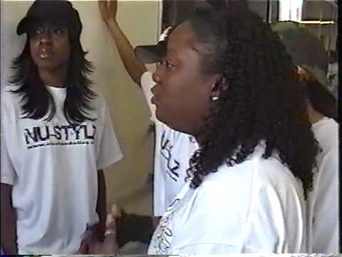 PART TWO of the interview: CRAZYCEE & NU STYLZ Interview on video set! FEMALES IN THE HIP HOP GAME!