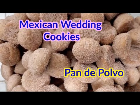 Mexican Wedding Cookies Recipe / Pan de Polvo / Hojarascas