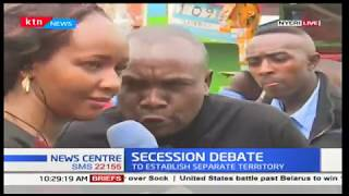 Nyeri residents react to secession bill