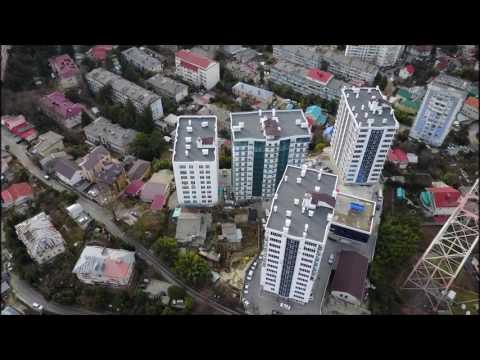 Летаем над ЖК Альпика! || Недвижимость в Сочи с квадрокопотера