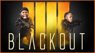 Enlisting My ANNOYING Little Bro To Carry Me In Call Of Duty Blackout!