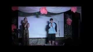 Алла Роус и Айнур Бикбаев(Сольфеджо) - Ключи (Cover version Бьянка и Стим)