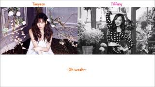 Lost in Love - Taeyeon & Tiffany (of SNSD) Lyrics [ENG+ROM]