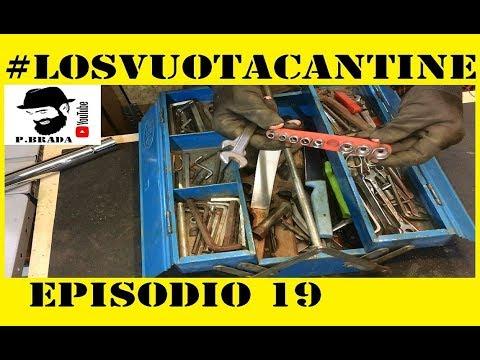 Cassetta attrezzi,carrello e motori GRATIS Svuotacantine 19