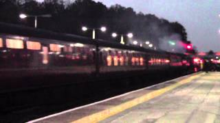 preview picture of video '34067 Tangmere at Orpington station 11/11/12'