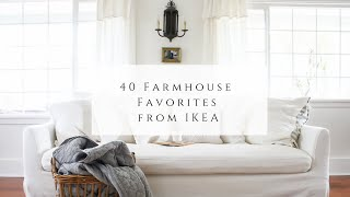 40 Farmhouse Favorites From Ikea