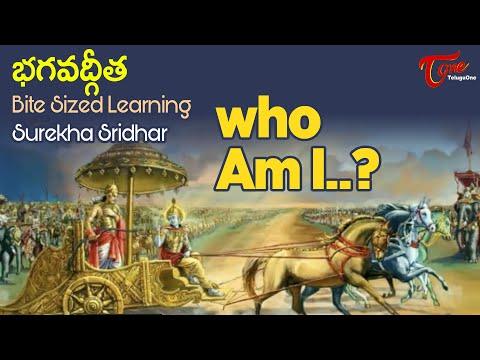 Who Am I? | BHAGAVADGITA Bite Sized Learning | Surekha Sridhar | BhaktiOne