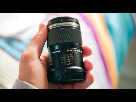 Olympus 60mm f2.8 MACRO LENS Review! – BEST MFT Macro Lens?