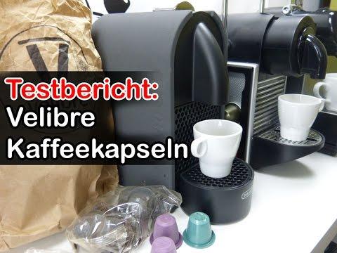 Velibre Kaffeekapseln im Test - 100% biologisch abbaubare Kapseln