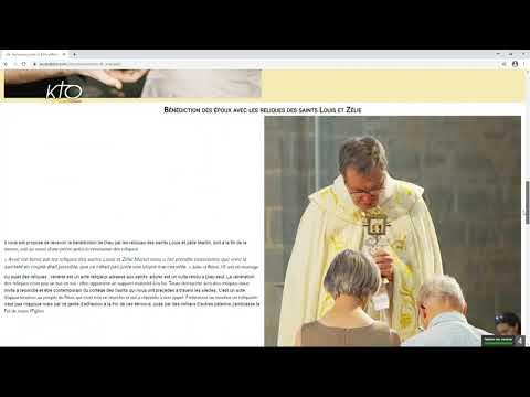 Le site web du Sanctuaire Louis et Zélie d'Alençon