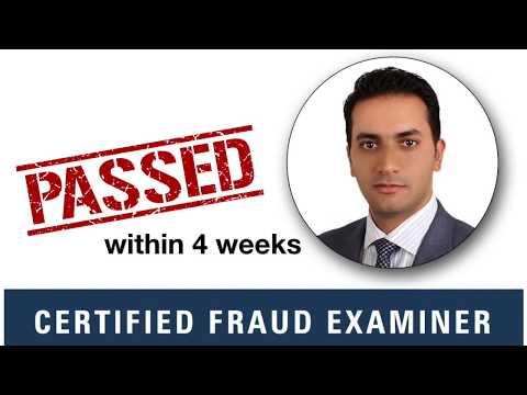 Earn the Certified Fraud Examiner (CFE) Certificate Online - YouTube
