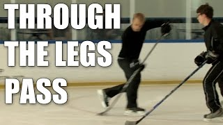Dustin Brown : How to Pass Through Your Legs | Kholo.pk