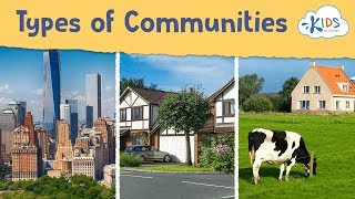 Your Community | Types Of Community - Social Studies For Kids | Kids Academy