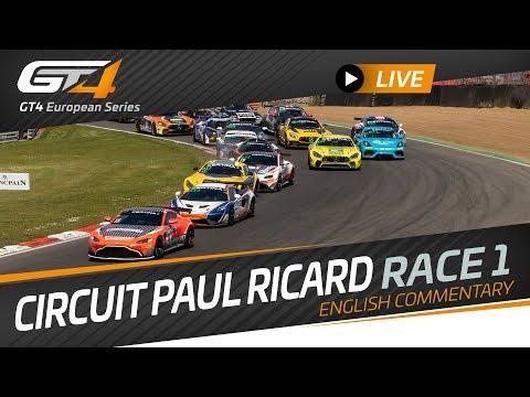 RACE 1 - PAUL RICARD - GT4 European Series 2019 - ENGLISH