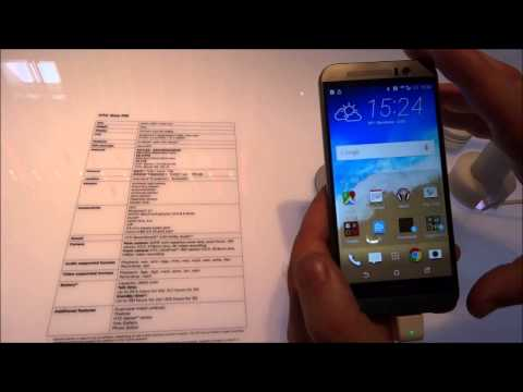 HTC One M9, video anteprima
