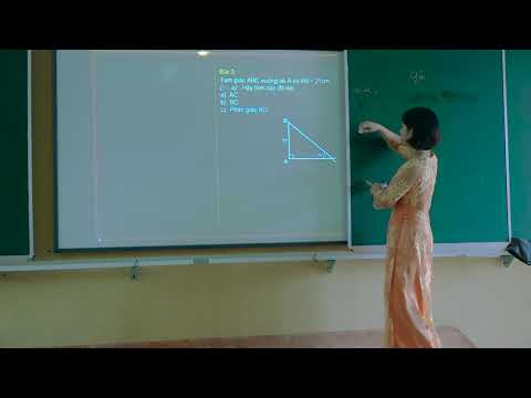 Toán 9: Một số hệ thức về cạnh và góc trong tam giác vuông, Lê Thị Hào, TH&THCS Tân Thịnh, Văn Chấn