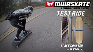 Test Ride Earthwing Space Coaster with El Beasto | MuirSkate Longboard Shop